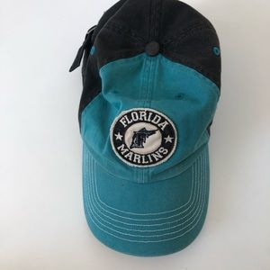 Youth Florida Marlins Vintage Look hat snap close